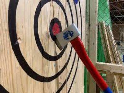 We now offer Axe Throwing for ages 18 & up