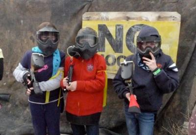 Paintball Games Healthy and Fun for Children
